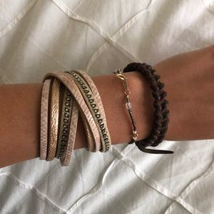 Jewelry - Wrap bracelet from a boutique :)